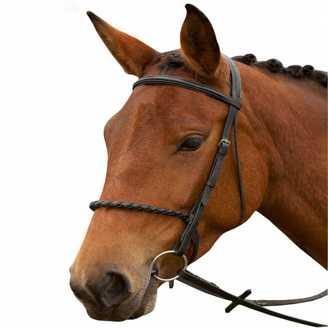 Handcrafted Leather English Bridle