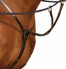 Black DD Leather Breastplate & Martingale