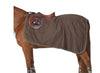 Anti Static Fleece Brown Color Quarter Sheet