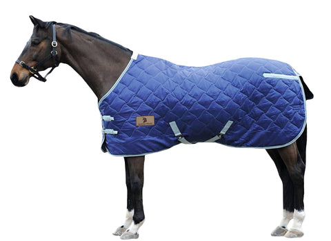Blue 420D Stable Blanket Std Neck 150G