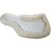 White Wool Felt Wither Back Pad