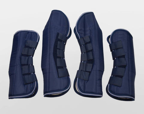 Deluxe Blue Travel Boots
