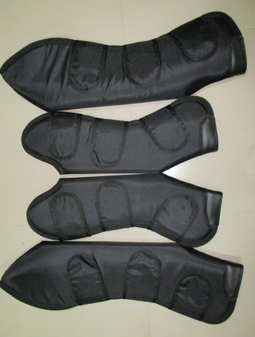 Deluxe Black Travel Boots