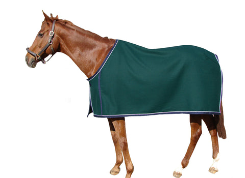 Green woolen Stable Blanket