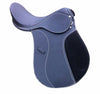 Blue & Black Dressage Horse Saddle