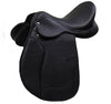 Black D.D Leather Dressage Horse Saddle