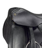 Black D.D Leather Eventing Dressage Horse Saddle
