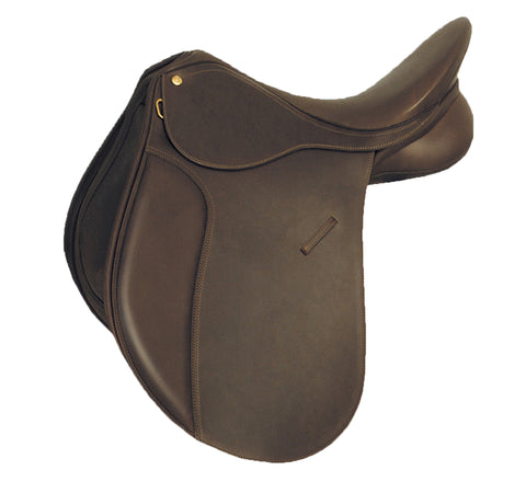 Dark Brown Shalimar Leather Horse Saddle