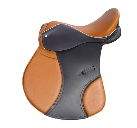 Black Brown D.D Leather Horse Saddle