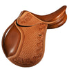 DD Leather Light Weight Golden Brown English Saddle