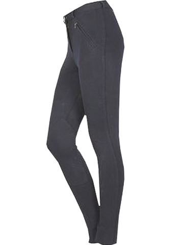 Black Knitted Classic Breeches