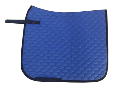 Designer Blue English saddle pad
