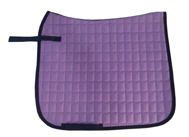 Pink English saddle pad