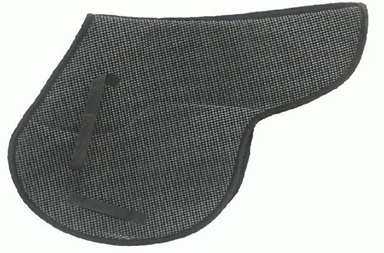 Black Traditional English saddle pad
