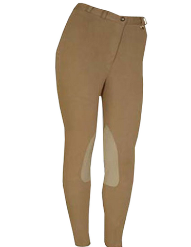 Black Knitted Classic Brownish Yellow Breeches