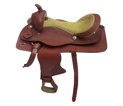 Designer Leather Saddle