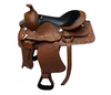 Designer Brown Black Western saddle