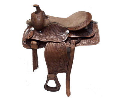 Designer Brown Western saddle