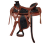 Designer Black Brown Saddle