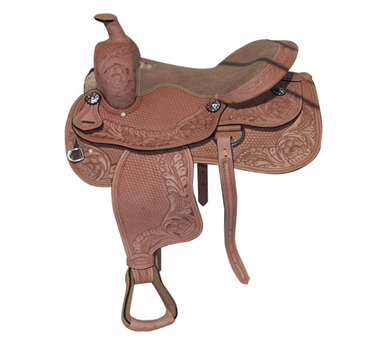 Brown Designer Western saddle
