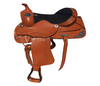 Black Designer Western saddle