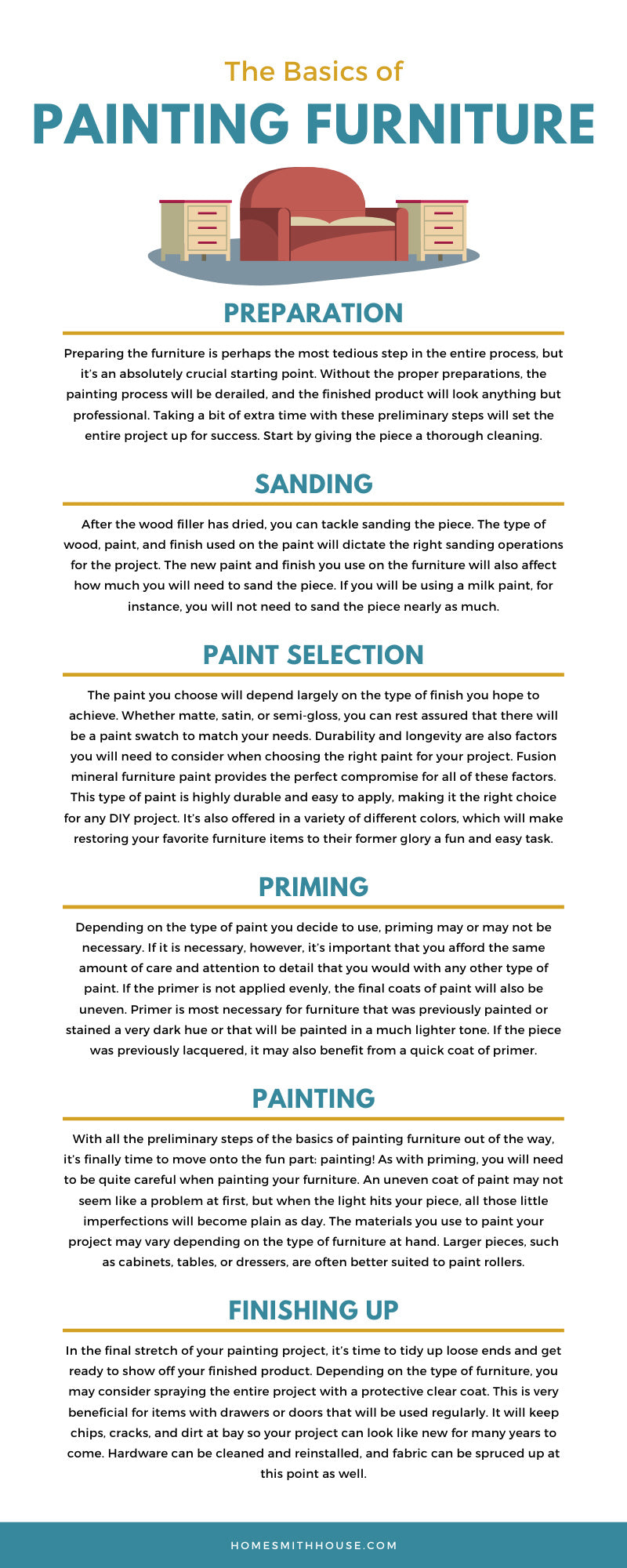 The Basics of Painting Furniture