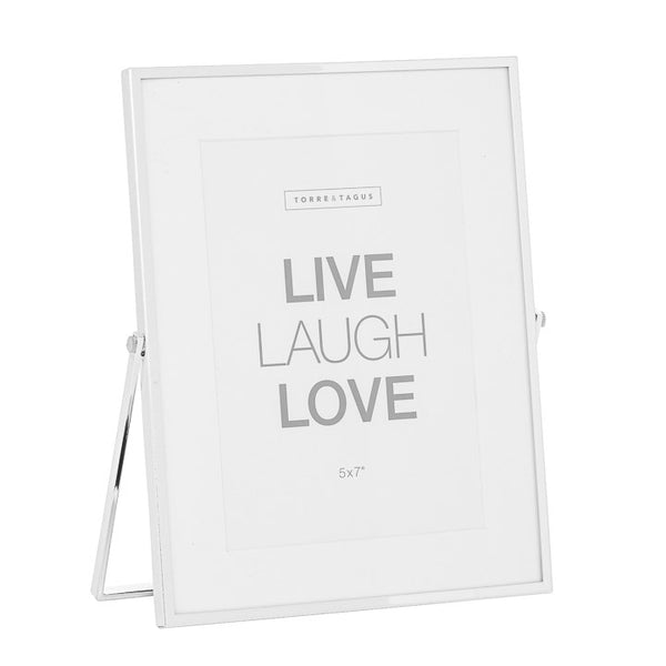 Easel Silver Trim with Matte Photo Frame - Home Smith
