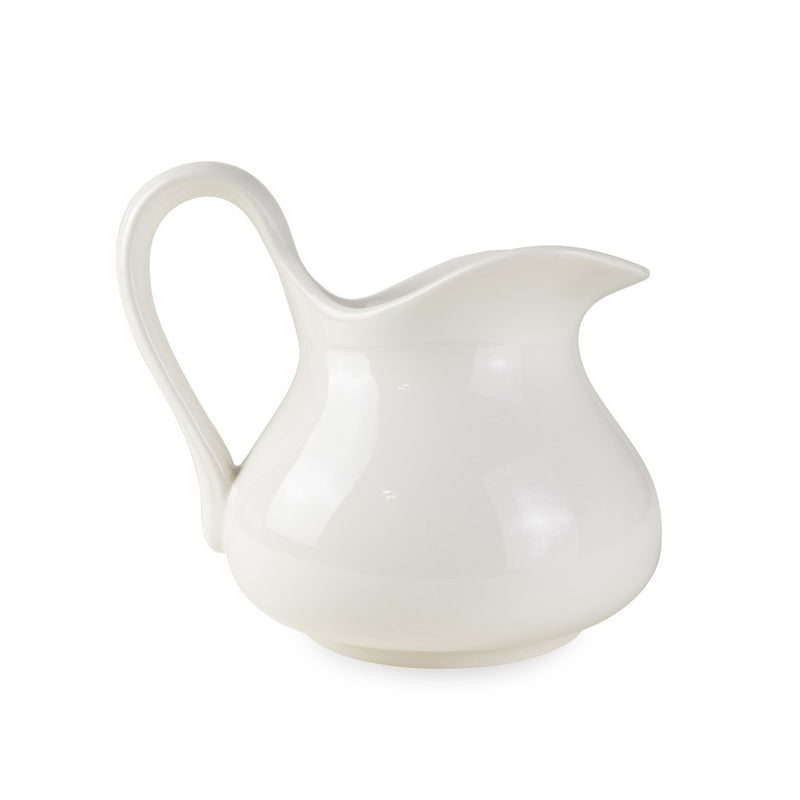 Stoneware Aviary Pitcher No. 2 in Flour - Home Smith