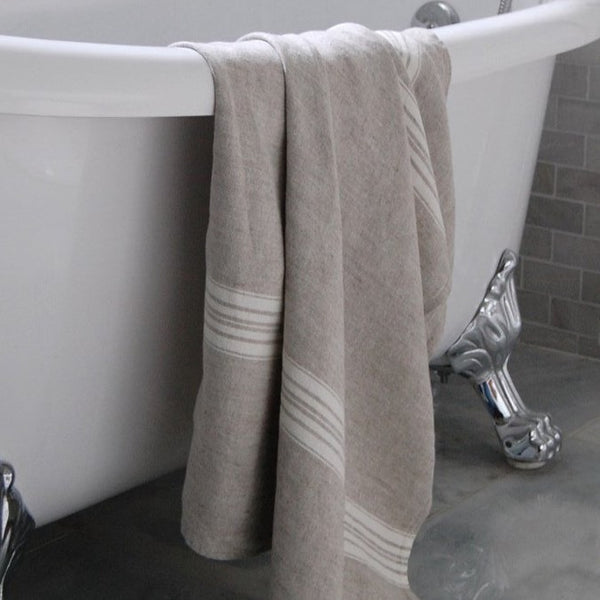 Maison Linen Bath Towel - Home Smith
