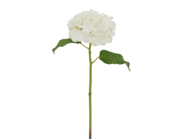 Natural Touch Hydrangea Stem - White