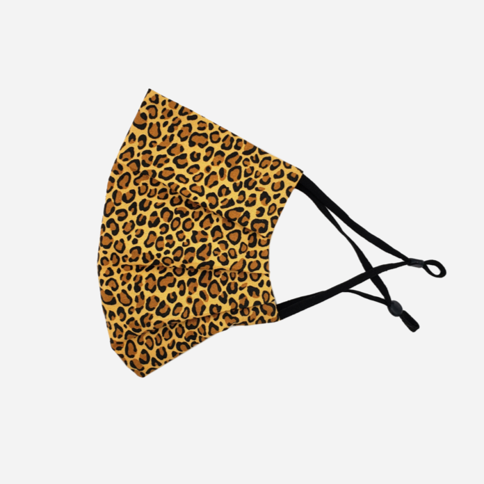 Hira Cotton Adjustable Face Mask - Cheeta - Home Smith