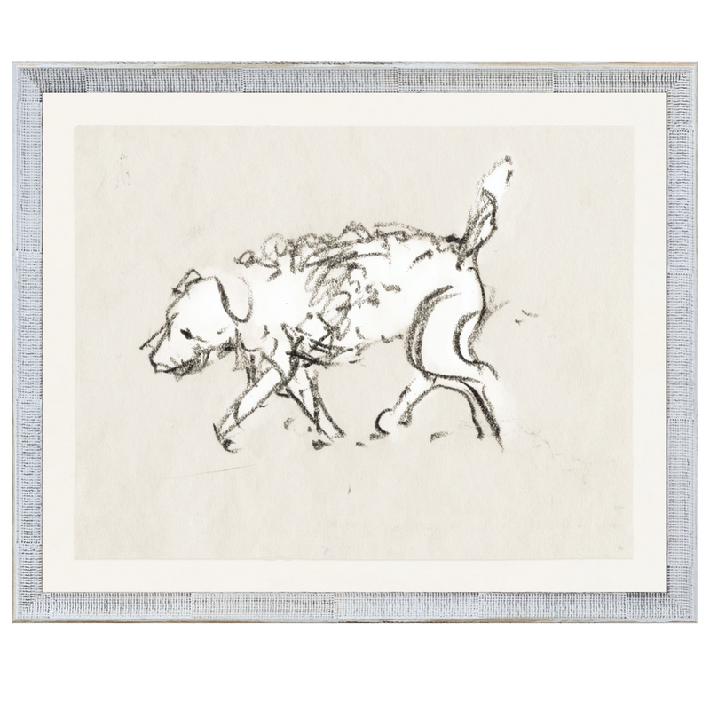 1930 Dog Study Framed Print from Collection 08 - Home Smith