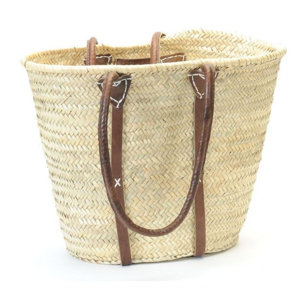 French Market Basket with Shoulder Straps - Home Smith
