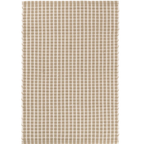 Gridiron Wheat Indoor/Outdoor Rug - Home Smith