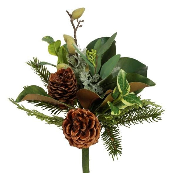 PIne Cone and Magnolia Leaf Bouquet - Home Smith