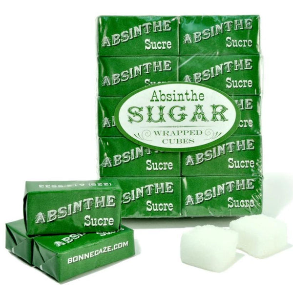 'Absinthe Sucre' Wrapped Sugar Cubes-Bonnecaze-Home Smith