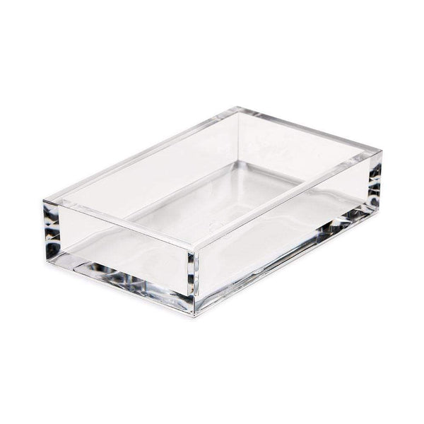 Acrylic Guest Towel Napkin Holder-Caspari-Home Smith