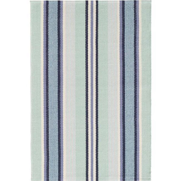 Barbados Stripe Woven Cotton Rug - Home Smith