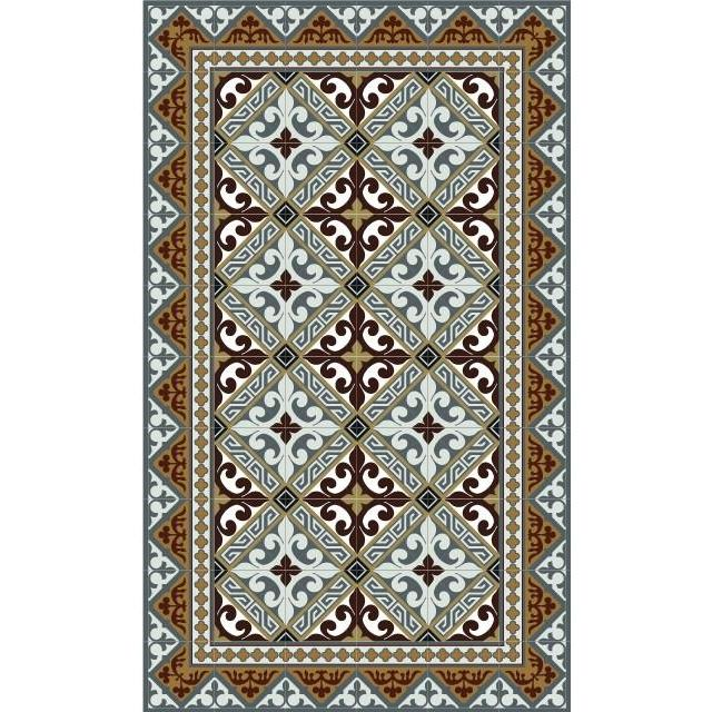 Beija Flor Fleur De Lys Floor Mat - Original - Home Smith