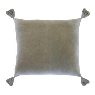 Bianca Velvet Pillow in Sage - Home Smith
