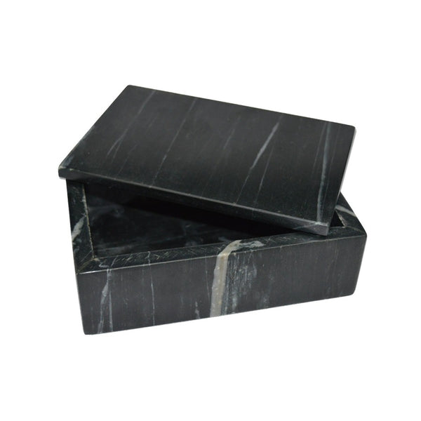 Black Marble Box - Square-BIDK Home-Home Smith