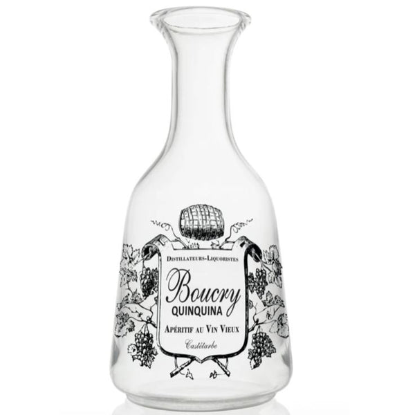 Boucry Glass Carafe-Bonnecaze-Home Smith
