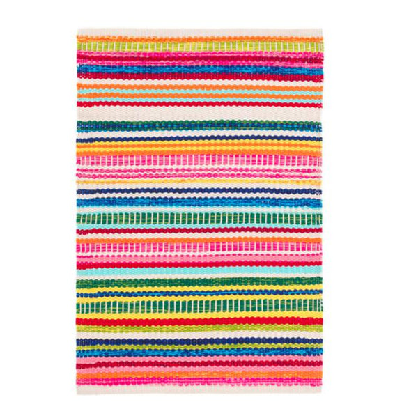 Bright Stripe Indoor/Outdoor Rug-Dash & Albert-Home Smith