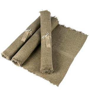 Burlap Linen Table Runner - Home Smith