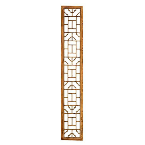 Chinese Inspired Wooden Screen - Home Smith