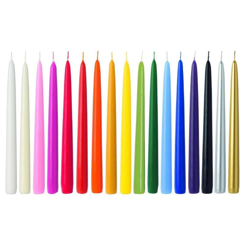 "Danish Hand Dipped 14"" Single Taper Candles - Home Smith"