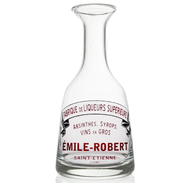 Emile-Robert Glass Carafe-Bonnecaze-Home Smith