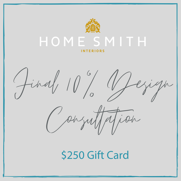 """Final 10%"" Design Program-Home Smith-Home Smith"