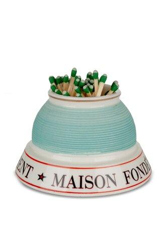 French Porcelain Match Strike - Laurent - Home Smith