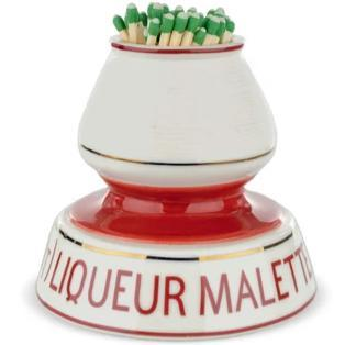 French Porcelain Match Strike - Liqueur Malette - Home Smith